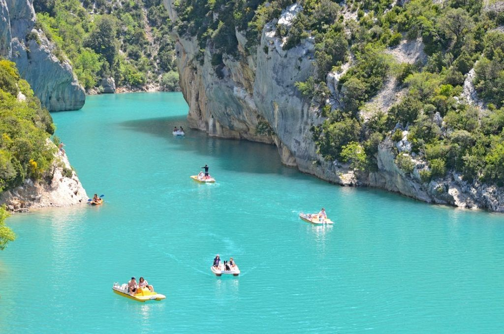 Grand Canyon du Verdon in der Provence