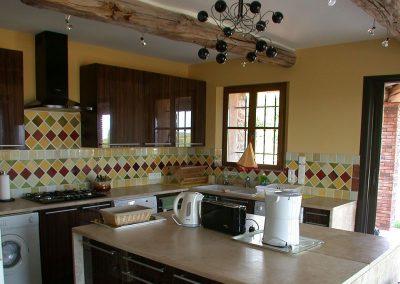 Keuken Villa la Douce Noa Provence