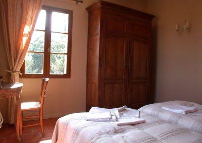 Slaapkamer Lavande Villa la Douce Noa Provence