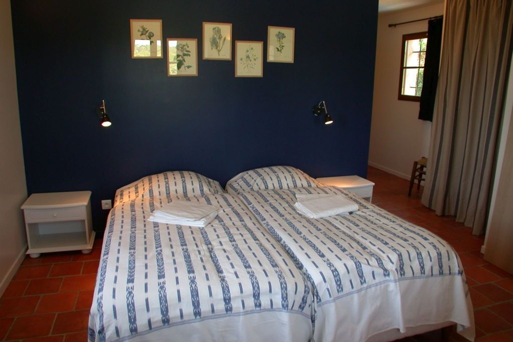 Slaapkamer Olivier Villa la Douce Noa Provence