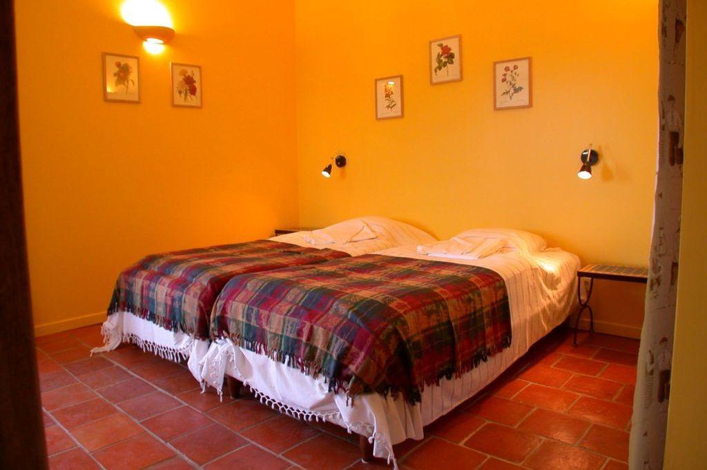 Slaapkamer Romarin Villa la Douce Noa Provence