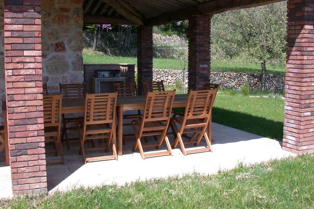 Terras met barbecue Villa La Douce Noa Provence Lorgues