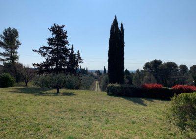 De tuin Villa la Douce Vince