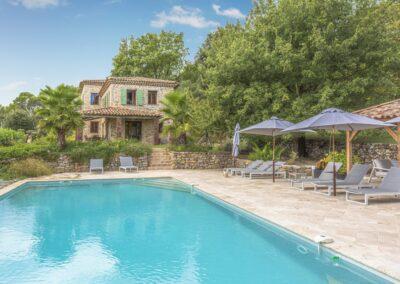 Zwembad van Villa La Douce Noa