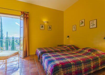 Slaapkamer van Villa La Douce Noa
