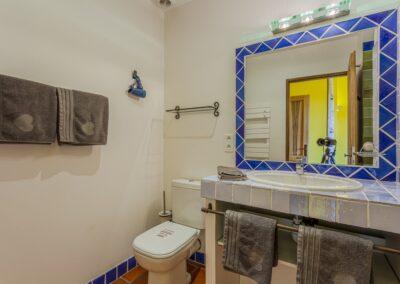 Badkamer van Villa La Douce Noa