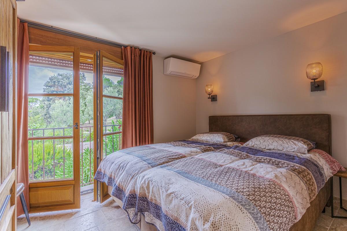 Slaapkamer van Villa La Douce Vince