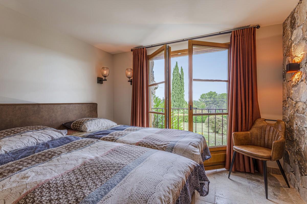 Slaapkamer in Villa La Douce Vince