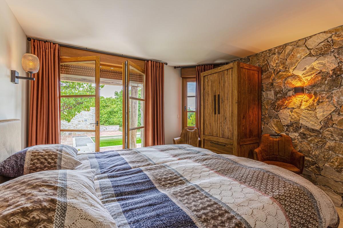 Slaapkamer in Villa La Douce Vince in Lorgues, Provence