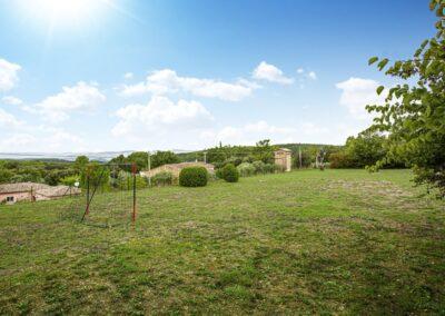 Speelveld bij Villa La Douce Vince