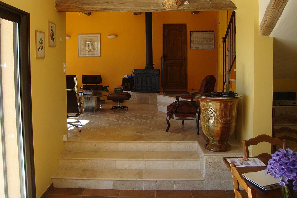 Woonkamer Villa la Douce Noa Provence