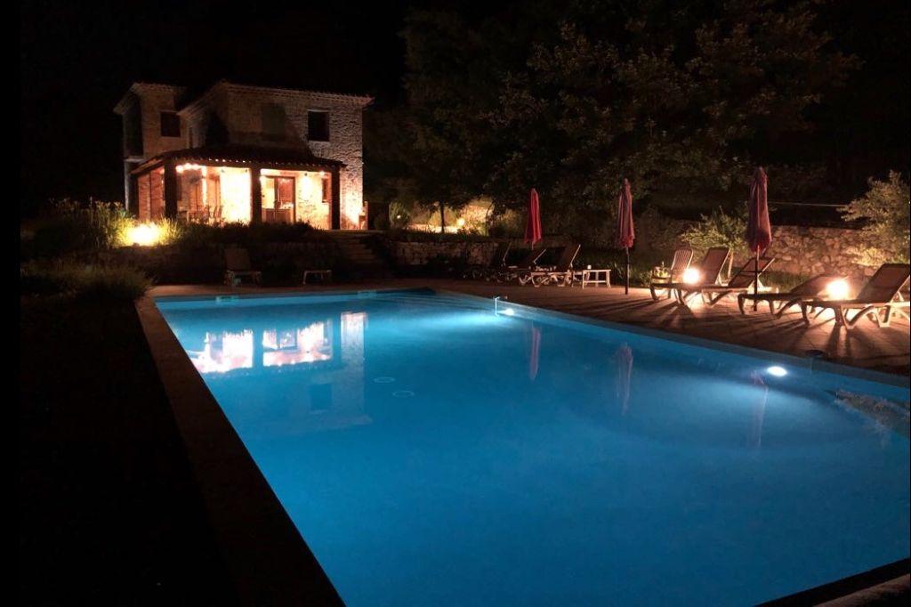 Zwembad van Villa la Douce Noa in Lorgues, Provence
