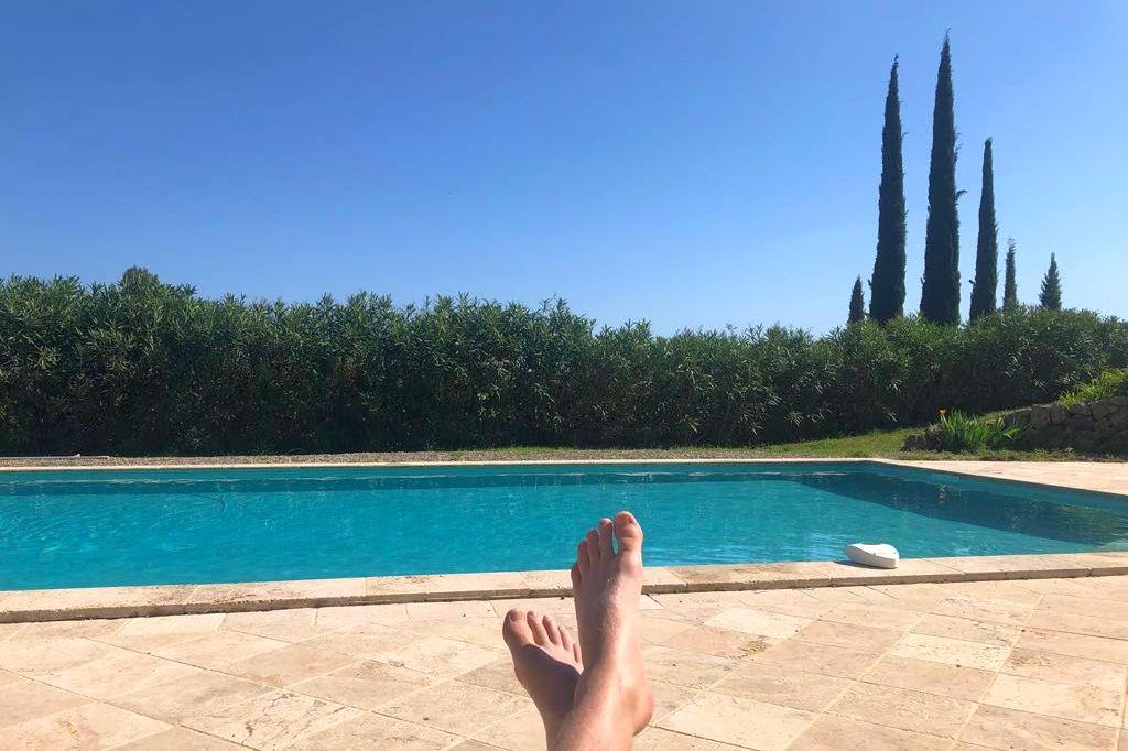 Zwembad Villa la Douce Noa in Lorgues Provence Zuid Frankrijk