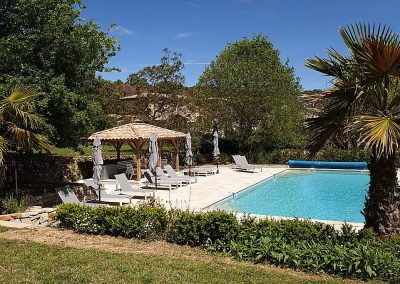 Zwembad Villa la Douce Noa